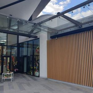 Tauranga Crossings - Main Entry Metalwork
