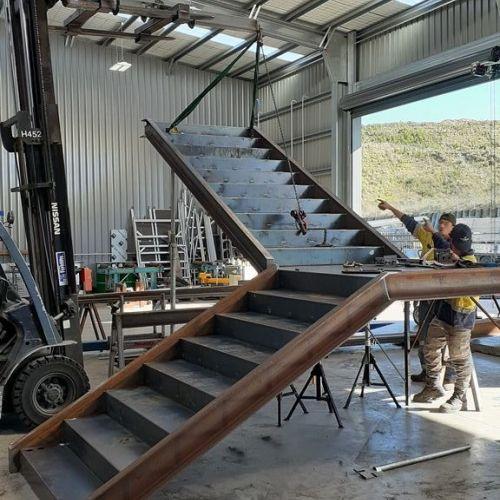 Fabworx Architectural Metal Fabrication Tauranga - Steel Staircase2.jpg