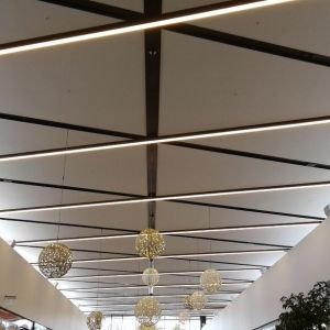 Tauranga Crossings - Diagrid Ceiling System