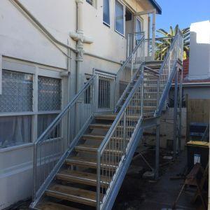 Strand Motel, Tauranga - Stairs