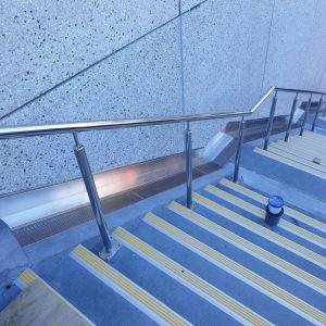 Waikato University, Tauranga Campus - Handrailing, Steel Traps etc