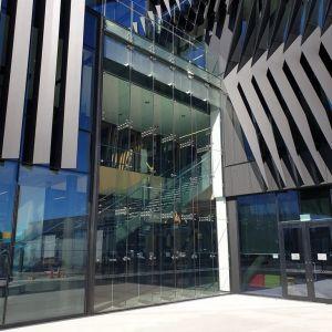 Waikato University Tauranga Campus - Steel frame for Glass Eaves