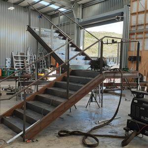 Architectural Steel Staircase - Tauranga
